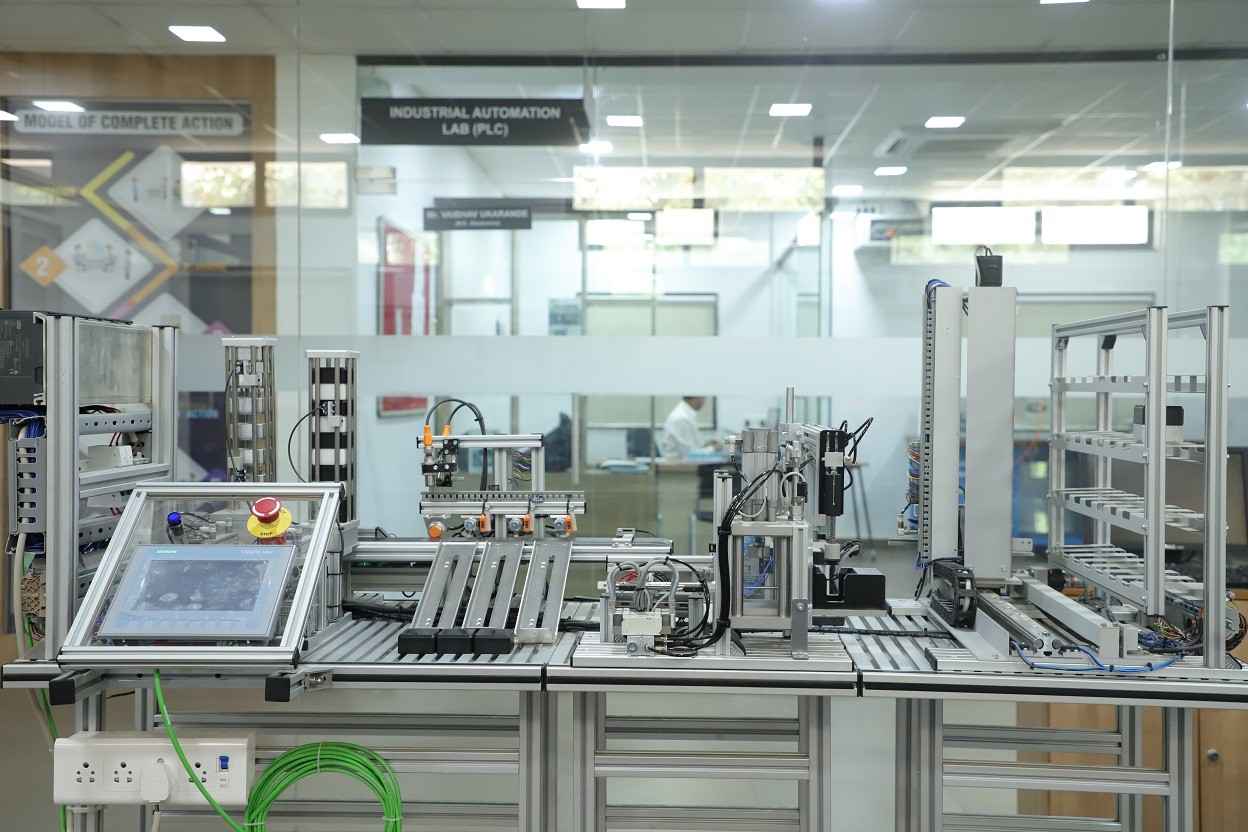 Industrial Automation Lab at Innovation Incubation Research Centre