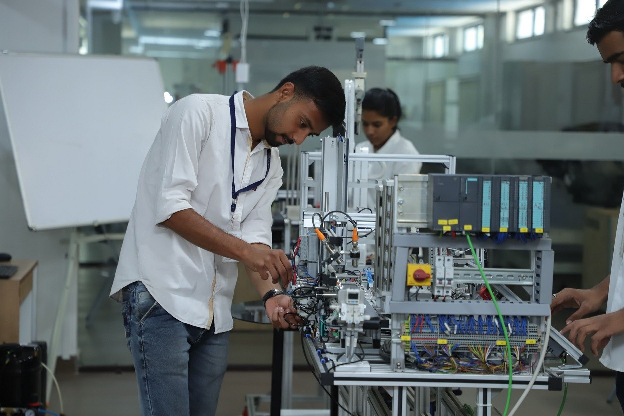 Mechatronics Lab at Innovation Incubation Research Centre